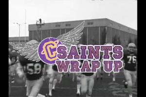 Saints Wrap-Up Show 2009 Logo